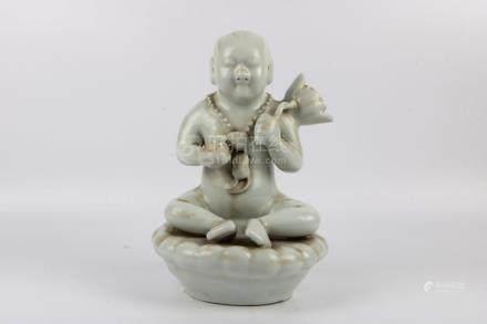 Chinese White Glaze Statue