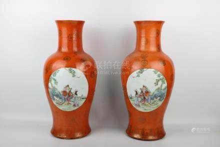 Chinese Republic Of China Period Famille Rose Guanyin Bottle