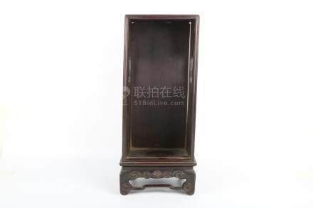 Chinese Redwood Buddha Box