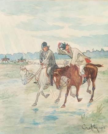 CRAFTY (Victor Geruzez 1840 – 1906).
