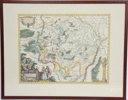 Carte du Grand-Duché de Luxembourg  Impression…