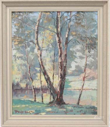 Félix GLATZ (1894-1953)  Artiste luxembourgeois…