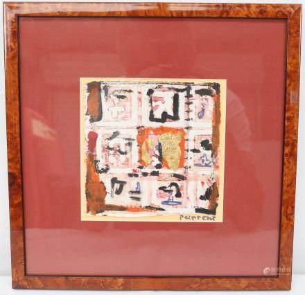 Patricia LIPPERT (née en 1956)  Peintre luxembourgeoise…