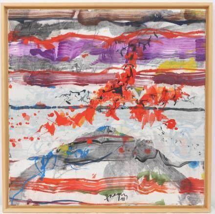 André HAAGEN (né en 1938)  Artiste Luxembourgeois…