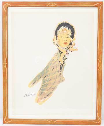 Jean-Gabriel DOMERGUE (1889-1962)  Lithographie…