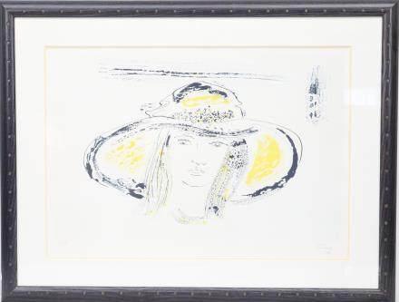 Ger Maas (né en 1931)  Peintre luxembougeoise…