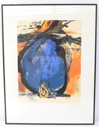 Robert BRANDY (né en 1946)  Peintre luxembourgeois…