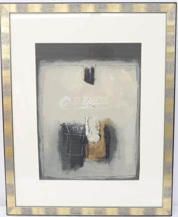 Jeannot LUNKES (né en 1946)  Peintre luxembourgeois…