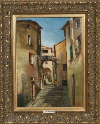 Robert- Adrien Deletang (1874-1951)  Huile…