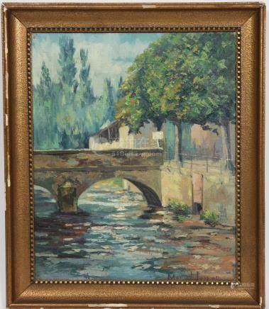 Marcel Jaspar (1886-1952)  Peintre belge…