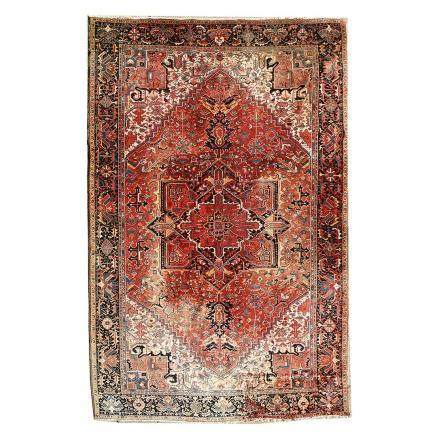Large Floral Persian Rug