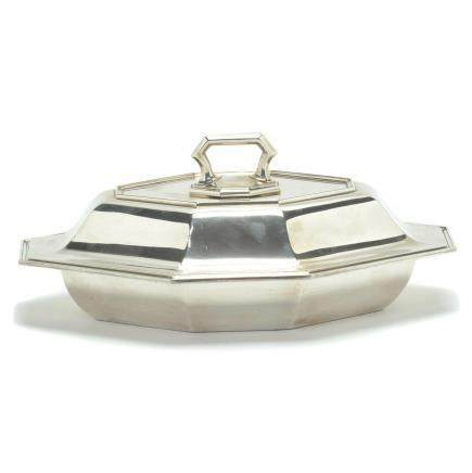 Gorham Sterling Silver Covered Vegetable Dish.