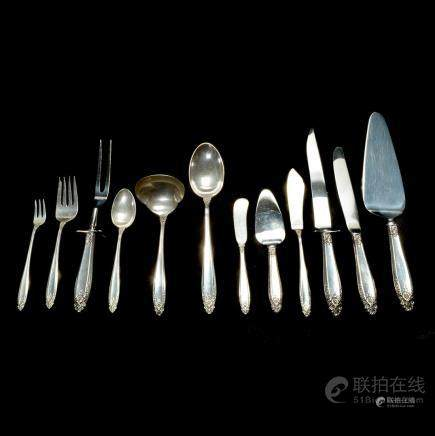 Set of International Silver Sterling Prelude Pattern