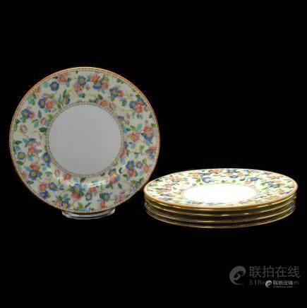 Wedgwood Dinner Plates in Three Various Patterns, 26