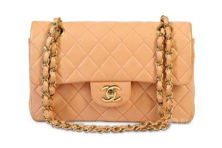 Chanel Pale Pink Small Classic Flap Bag