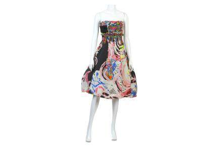 Christian Lacroix Strapless Dress