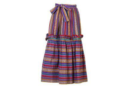Yves Saint Laurent Peasant Skirt
