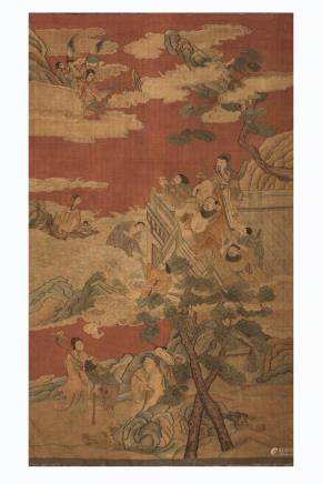 CHINESE KESI EMBROIDERY OF IMMORTALS