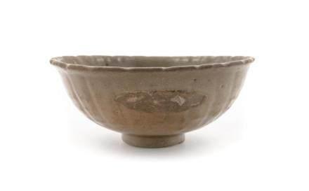 A Celadon Glazed Porcelain Bowl