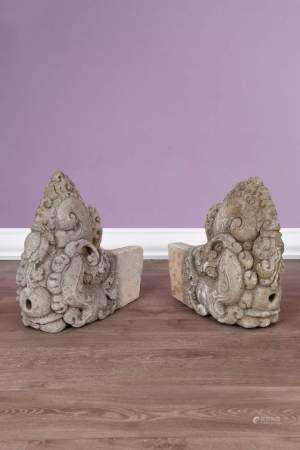 2 importants fragments de linteau
