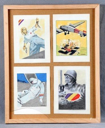 "ECHAUZ, F. ""Bocetos de carteles""."