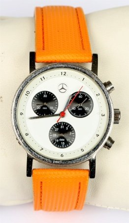 Reloj cronómetro de pulsera, de la marca MERCEDES BENZ, SLK.