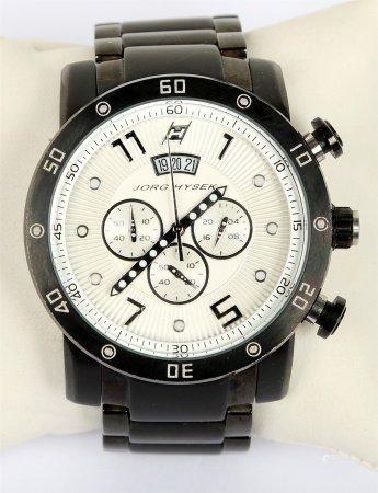 Reloj cronómetro de pulsera, de la marca JORG HYSEK.