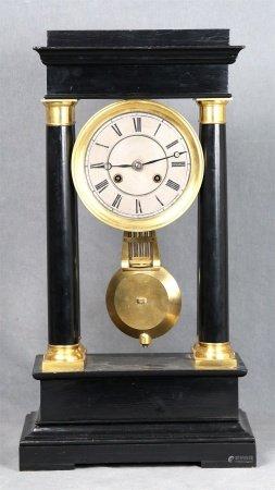 Reloj de pórtico Imperio, Francia S.XIX.