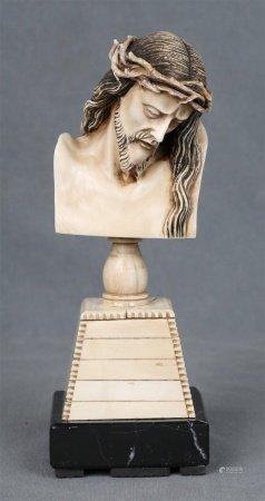 SATURLECOG. Busto de Cristo.