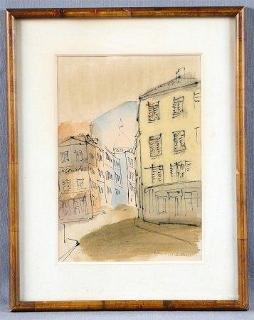 """ZAMORANO, RICARDO. """"Montmartre, París""""."""