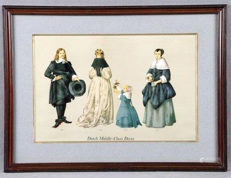"""JACQUES, FAITH.  """"Dutch Middle-Class Dress, 1650-1656""""."""