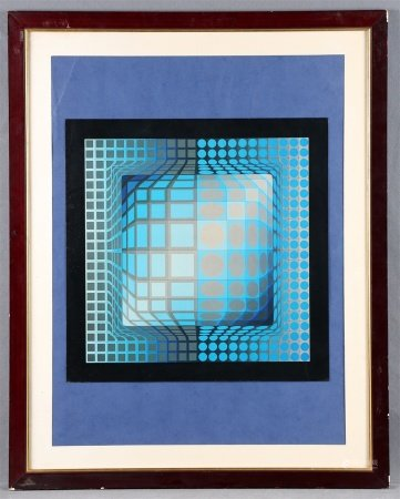 "VASARELY, VICTOR. ""Koska-rev""."