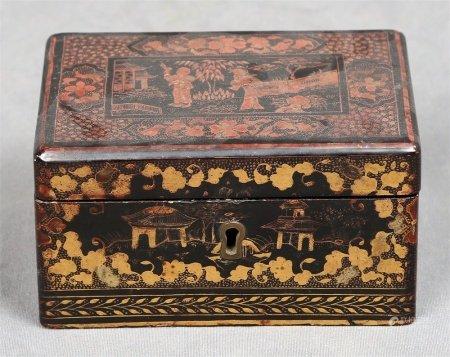 Caja china, finales S.XIX.
