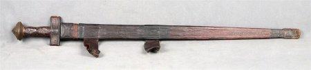 Espada original tuareg, finales S.XIX.