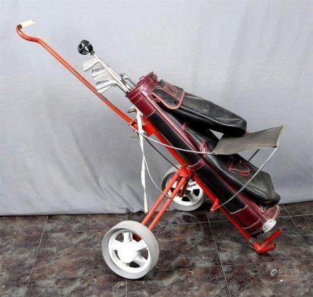 Carro de golf, de la marca PRINCE.