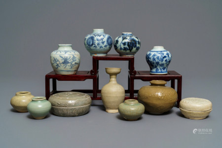 A collection of 11 Chinese and Southeast Asian wares, Song and later