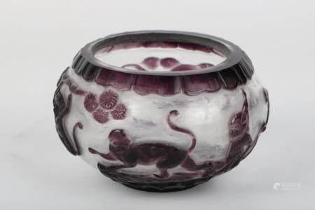Chinese Glass Small Bowl