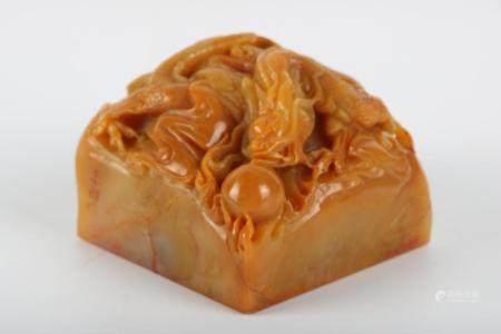 Chinese Stone Animal Seal