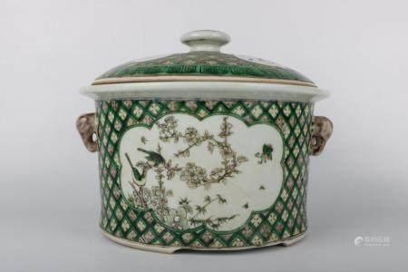 Chinese Republic Of China Porcelain Jar