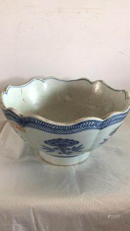 Qing dynasty Gan Long period Blue and White porcelain Bowl