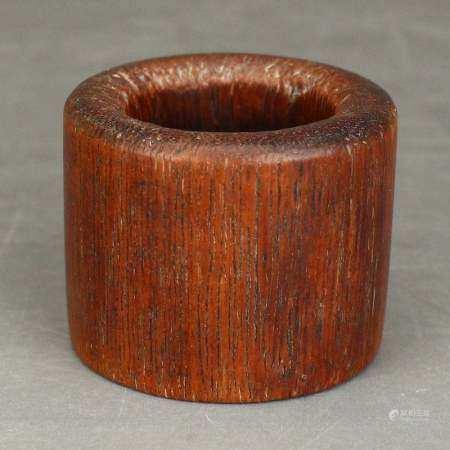Vintage Chinese Bamboo Thumb Ring