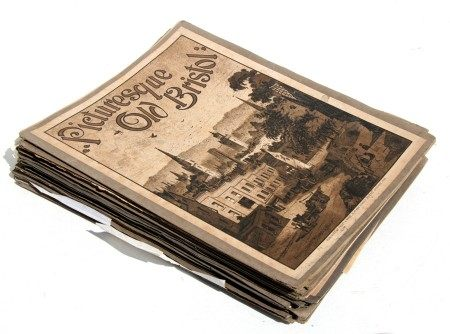 Picturesque Old Bristol, published by Frost & Reed, 1886, weekly editions, each containing two
