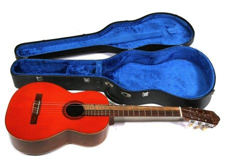 A classical acoustic guitar by Di Giorgio, Brazil, 1972 'Signorina, No. 16' with rosewood back and