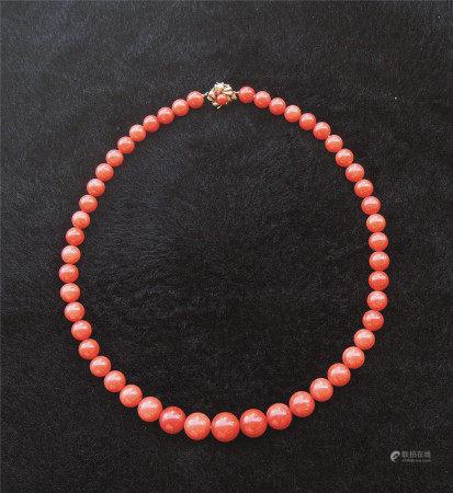 珊瑚珠项链