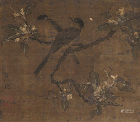 吕纪(1477~?) 花鸟 轴 绢本