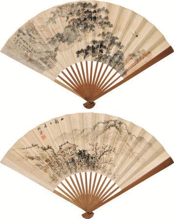 溥儒(1896~1963) 柳湲 山水