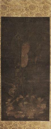 元 地藏菩萨像 轴 绢本