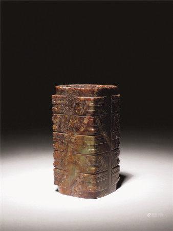 良渚文化 古玉琮