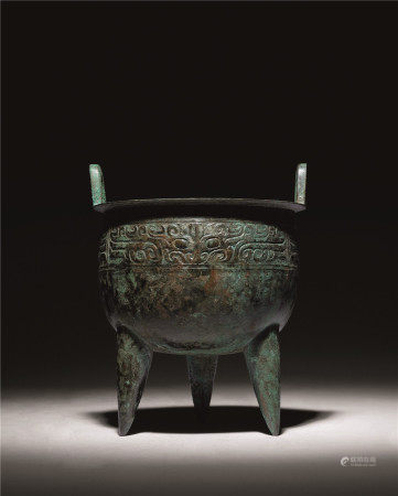 商 青铜兽面纹鼎