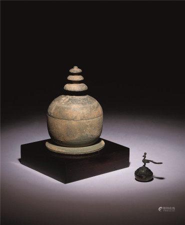 四世纪 陶烧舍利塔